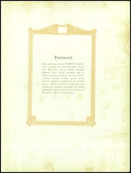1927 Randolph-Macon Academy Yearbook Page 9