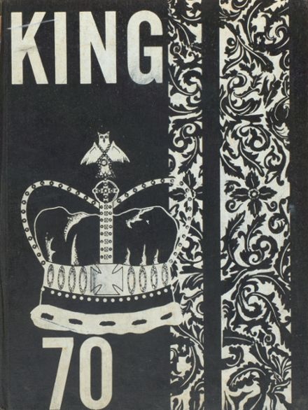 1970 Rufus King High School Yearbook Cover