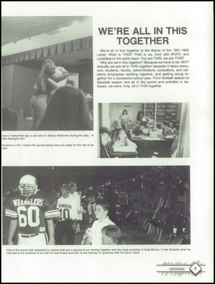 1992 West Mesquite High School Yearbook Page 7
