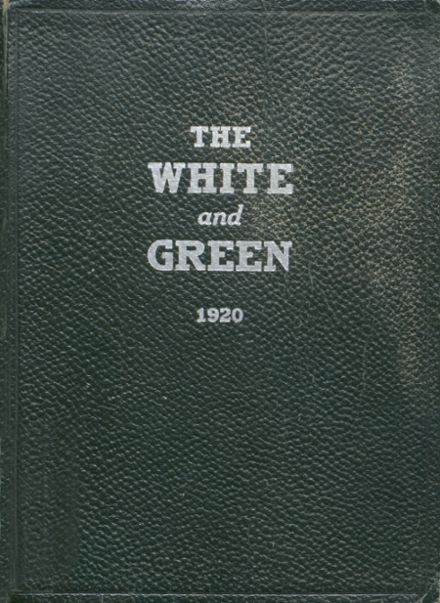 1920 Provo High School Yearbook Cover