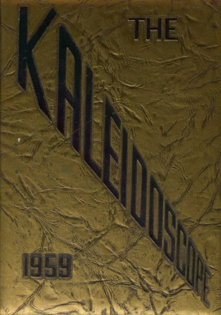1959 Hopewell High School Yearbook Cover