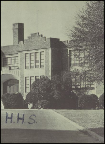 1959 Hopewell High School Yearbook Page 3