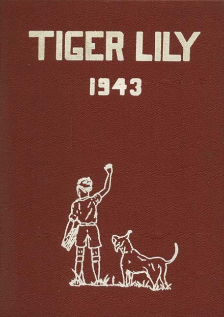 1943 Port Allegany High School Yearbook Cover