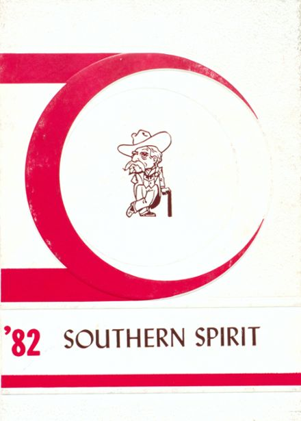 1982 North Sunflower Academy Yearbook Cover