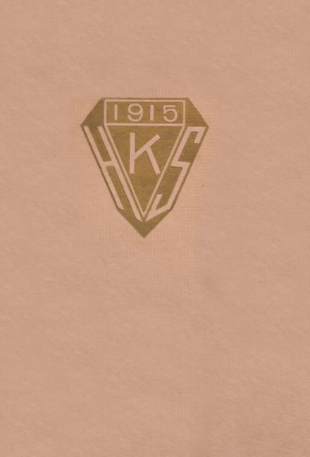 1915 Keokuk High School Yearbook Cover