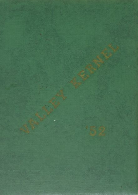 1952 San Ramon Valley High School Yearbook Cover