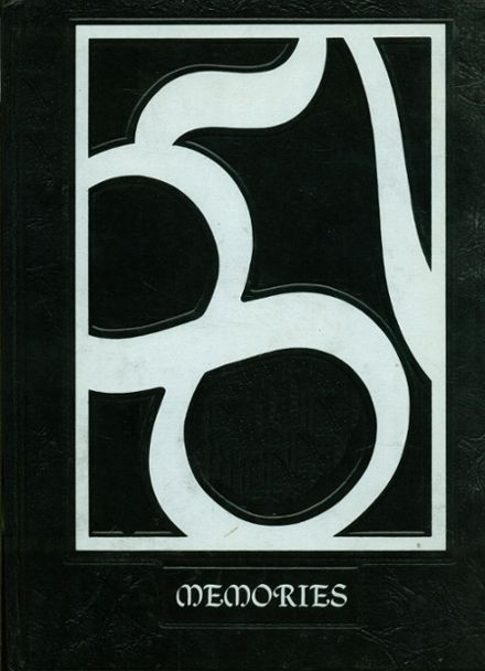 1987 Monticello High School Yearbook Cover