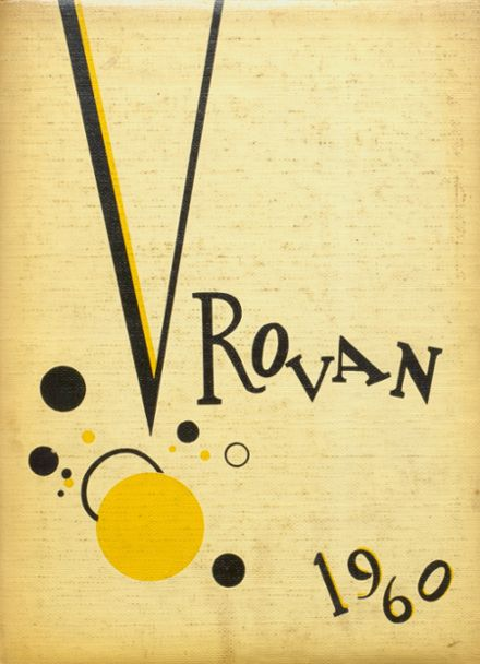 1960 ROWVA High School Yearbook Cover