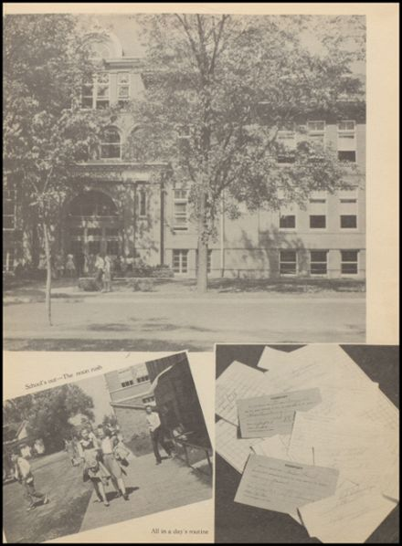 1942 Reedsburg High School Yearbook Page 7