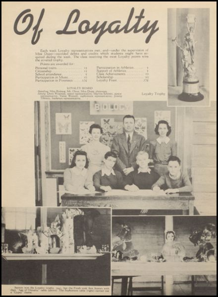 1942 Reedsburg High School Yearbook Page 8