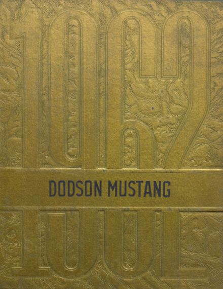 1962 Dodson High School Yearbook Cover
