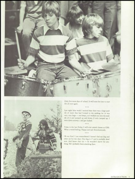 1977 Coquille High School Yearbook Page 9