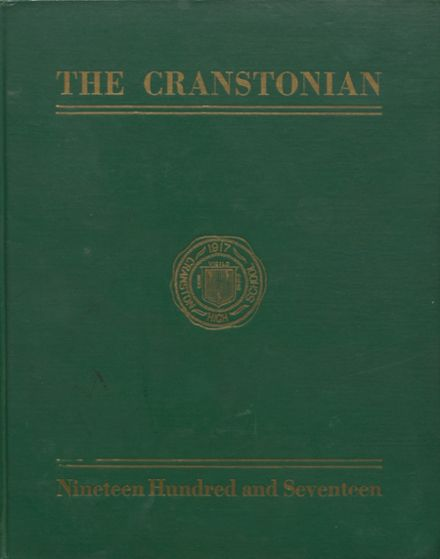 1917 Cranston High School East Yearbook Cover