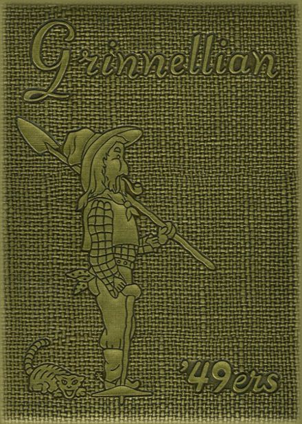 1949 Grinnell Community High School Yearbook Cover
