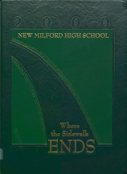 2000 New Milford High School Yearbook Cover