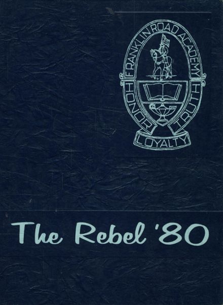 1980 Franklin Road Academy Yearbook Cover