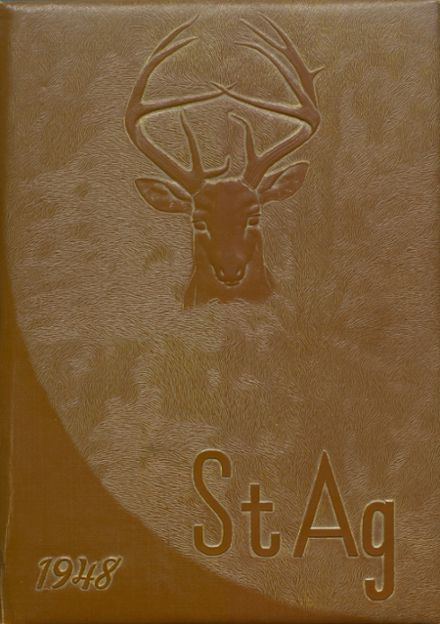 1948 St. Agnes Academy Yearbook Cover