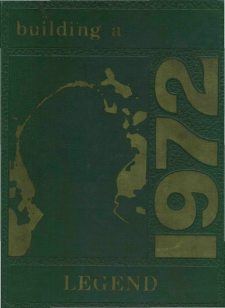 1972 Wawasee High School Yearbook Cover