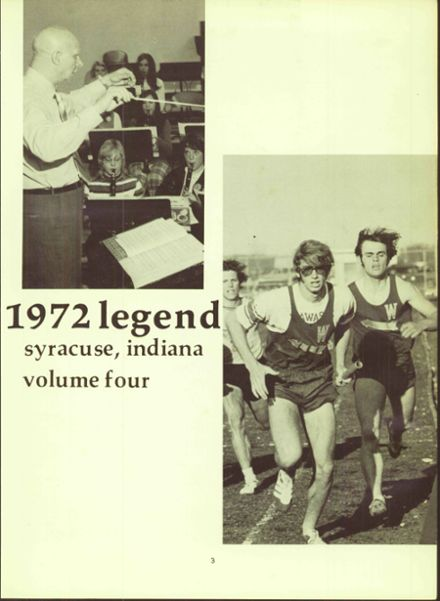 1972 Wawasee High School Yearbook Page 7