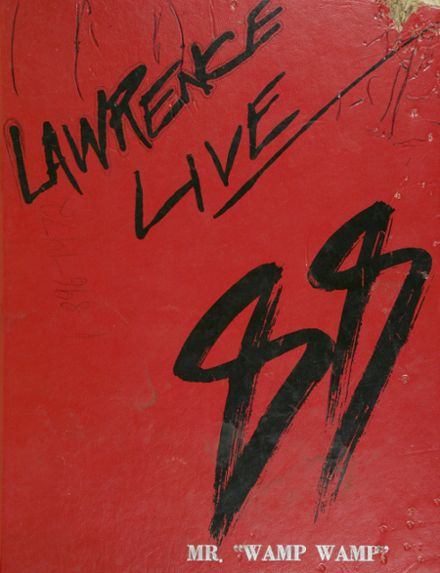1988 Lawrence High School Yearbook Cover