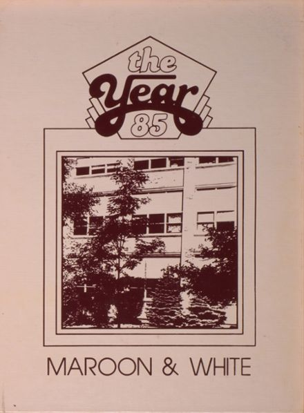 1985 Austin Career Academy Yearbook Cover
