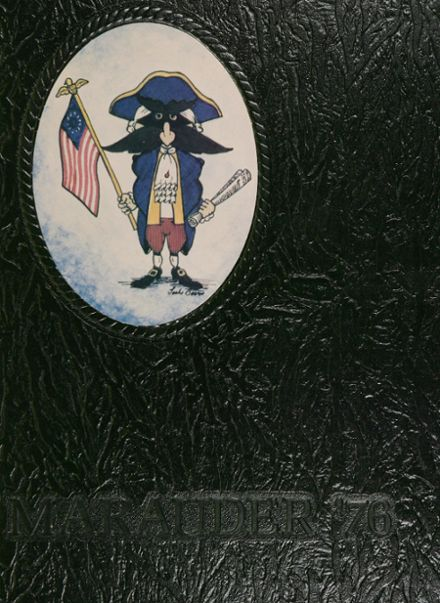 1976 North Garland High School Yearbook Cover