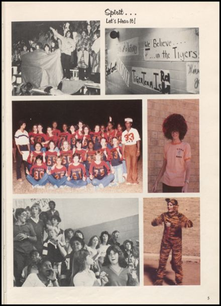 1980 Smithville High School Yearbook Page 9