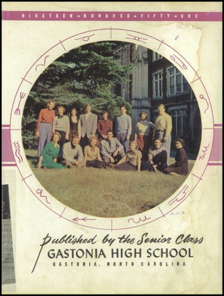 1951 Gastonia High School Yearbook Page 7