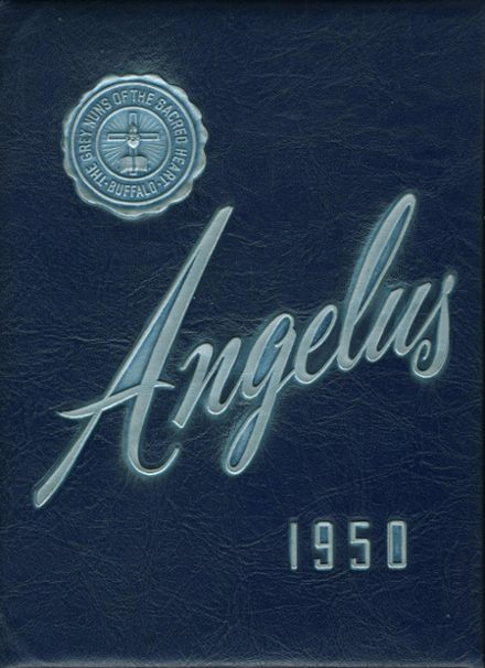 1950 Holy Angels Academy Yearbook Cover