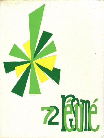 1972 Brewster High School Yearbook Cover
