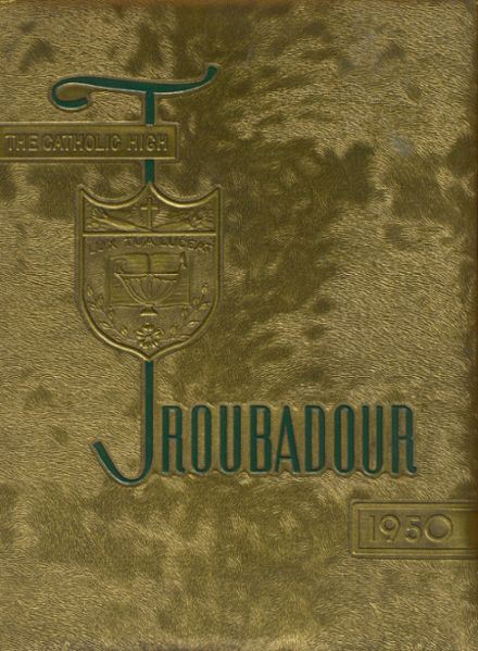 1950 Catholic High School of Baltimore Yearbook Cover