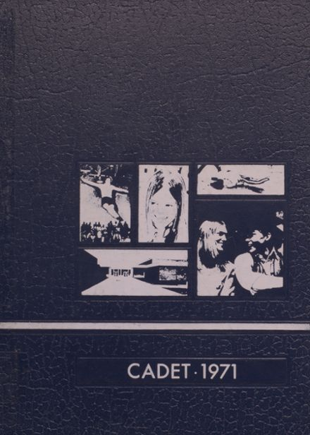 1971 Crestwood High School Yearbook Cover