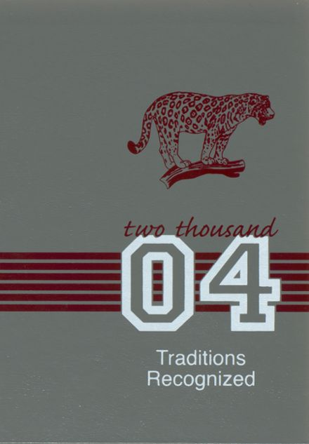 2004 Central High School Yearbook Cover