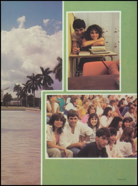 1986 St. Brendan High School Yearbook Page 7