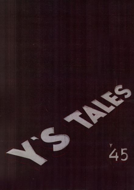 1945 York Community High School Yearbook Cover