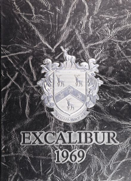 1969 Robinson High School Yearbook Cover