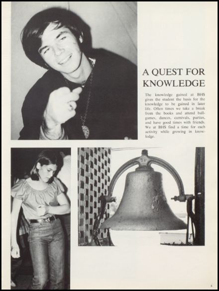 1971 Bloomfield High School Yearbook Page 9