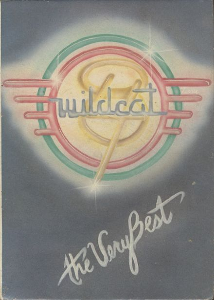 1984 Central High School Yearbook Cover
