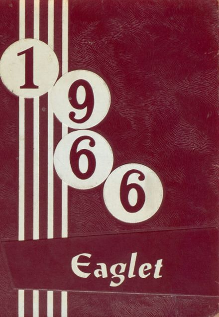 1966 Carroll High School Yearbook Cover