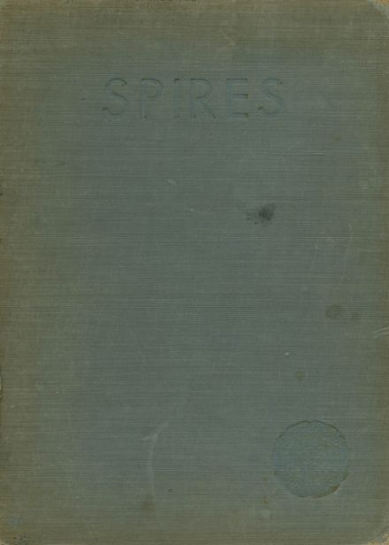 1934 Cathedral High School Yearbook Cover