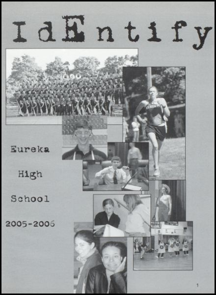2006 Eureka High School Yearbook Page 5