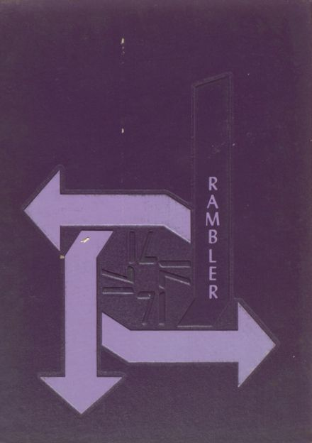 1971 Bradford Central Christian High School Yearbook Cover