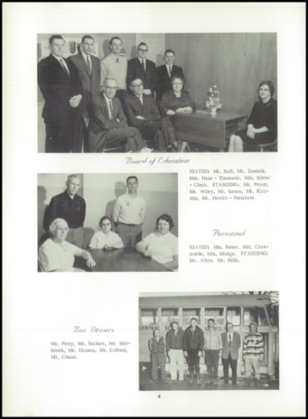 1965 Lyme Central High School Yearbook Page 8
