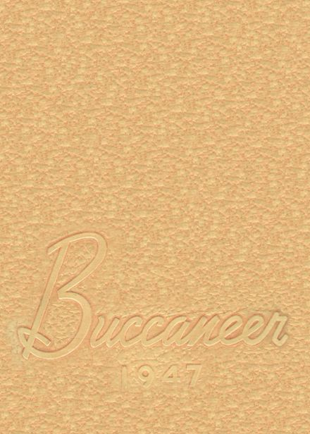 1947 Bluffton High School Yearbook Cover