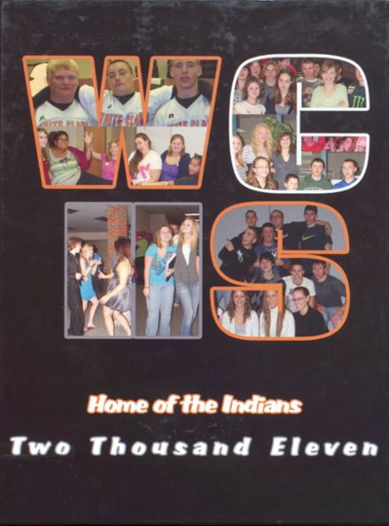 2011 White Cloud High School Yearbook Cover