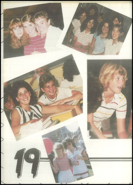 1985 Sacred Heart Academy Yearbook Page 2