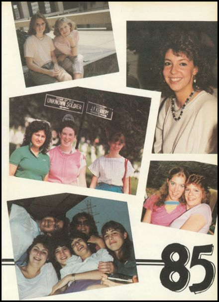 1985 Sacred Heart Academy Yearbook Page 3