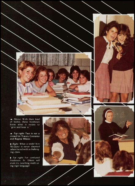 1985 Sacred Heart Academy Yearbook Page 6