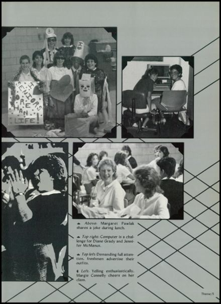 1985 Sacred Heart Academy Yearbook Page 9