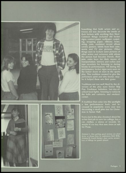 1982 Galena High School Yearbook Page 9